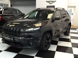 gunmetal grey jeep second hand jeep cherokee 2 2 multijet 200 night eagle 5dr auto