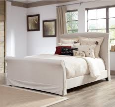 Upholstered Sleigh Bed King Bedroom Wingback Queen Bed Upholstered Queen Beds Tufted