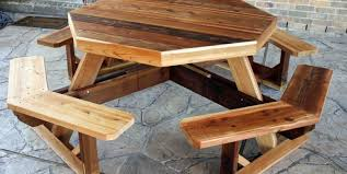 table patio backyard furniture amazing wood patio table outdoor