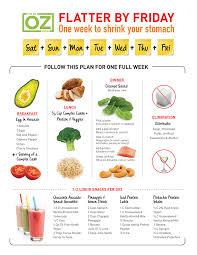 flatter by friday the 1 week plan the dr oz show