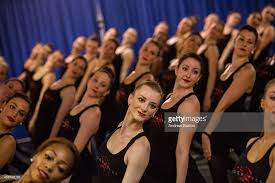 radio city rockettes rehearse part of their annual show