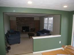 How To Remove Load Bearing Interior Wall How To Remove Stud Walls To Create An Open Floor Plan One