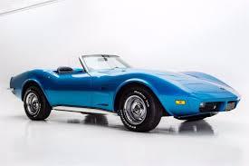 1973 corvette convertible for sale chevrolet corvette convertible 1973 blue for sale 1z67z3s423150