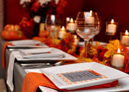 modern thanksgiving tablescapes the bright ideas