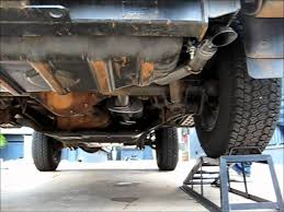 2001 jeep wrangler exhaust system exhaust on jeep wrangler and without muffler