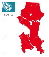 Dot Seattle Traffic Map by Seattle Map Stock Photos Royalty Free Seattle Map Images And Pictures