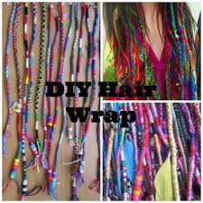 hair wraps diy hair wrap tutorial