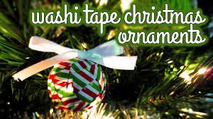 crafts washi ornaments