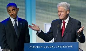 Obama Bill Clinton Meme - obama can only stand clinton in doses cutting short a golf