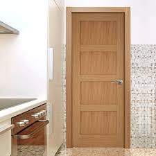 Interior 4 Panel Doors Contemporary 4 Panel Shaker Oak Door Mendes Panel Doors