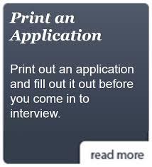 employee application resume