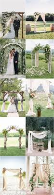 wedding arches and canopies best 25 wedding canopy ideas on casamento and