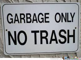 Meme Trash - garbage or trash by aihoshi meme center