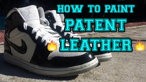 Painting On Faux Leather How To Paint Patent Leather