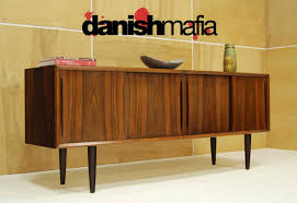 Mid Century Modern Sideboard Danish Modern Quality Crafted Open - Mid century modern danish bedroom furniture