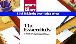 10 Must Essentials For A by Audiobook Hbr S 10 Must Reads The Essentials Harvard Business