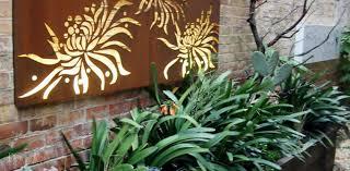 garden wall art mirrors how can a wooden garden wall art make