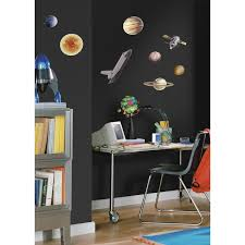 amazon com roommates rmk1003scs space travel peel and stick wall amazon com roommates rmk1003scs space travel peel and stick wall decals home improvement
