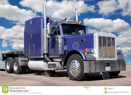 luxury semi trucks big purple truck stock image image of purple peterbilt 1965661