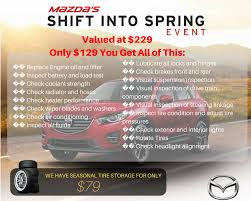 service department coupons specials la mazda