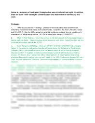 kaplan strategies by mimi docx at far easter university studyblue