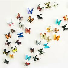 38pcs 3D Butterfly Wall Decoration