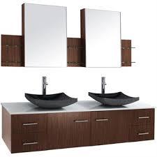 zebra wood bathroom cabinets bianca 72 wall mounted double bathroom vanity zebrawood free