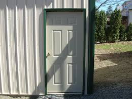 pole barn post frame building door options conestoga buildings