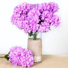 chrysanthemum large 56 mums balls silk wedding flowers bouquets