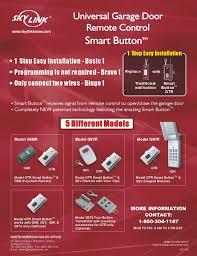 Moore O Matic Garage Door Opener Manual by Skylink Gtr Smart Button Receiver