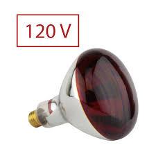 250w near infrared heat lamp bulb 120v us canada voltage saunaspace