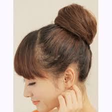 bun scrunchie buy stylish synthetic fiber pony hair bun extension