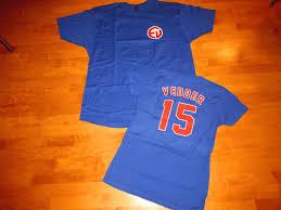 eddie vedder pearl jam chicago cubs northsider t shirt ten club