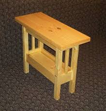 Pine Side Table Small Pine Side Table And Simple Pine Chest By Dusty