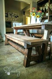 Kitchen Table With Bench Seating Interior Table Bench Seat Beautiful