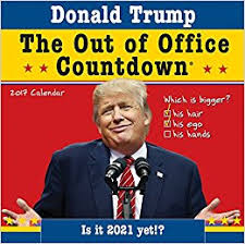 amazon black friday movie calender 2017 2017 donald trump out of office countdown wall calendar anthony