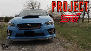 sti subaru jdm jdm facelift project sti pt 1 youtube
