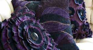 Purple Sofa Pillows by Cozycottages Twin Sleeper Sofas Stretch Sofa Slipcovers Gray