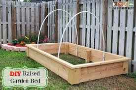 diy raised garden bed u2013 step by step tutorial the outdoor boys