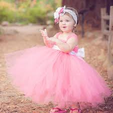 beautiful infant princess fashion dress baby flower
