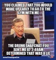 Gym Partner Meme - morning workout run fast or faster