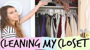 cleaning closet spring cleaning my closet organizing tips and tricks youtube