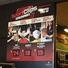 sport clips 14 reviews men u0027s hair salons 4020 e main st