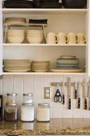 how to store dishes without cabinets how to organize kitchen