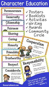 Character Letter Of Recommendation For A Student Best 25 Character Counts Ideas On Pinterest Character Education