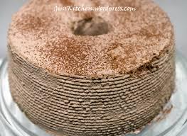 mocha chiffon cake ginskitchen