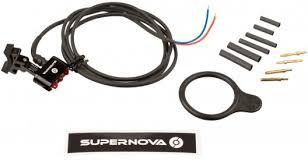 Supernova Lights Supernova E3 Tail Light 2 Led Rear Light For Seatpost Bike