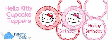 hello cupcake toppers hello cupcake toppers printable printable treats