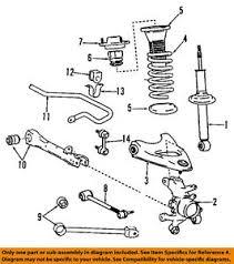 lexus is300 parts diagram lexus toyota oem 01 05 is300 front arm 4870653010 ebay