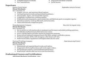 Diesel Mechanic Resume Examples by Aluminum Installer Sample Resume Construction Cover Letter Format